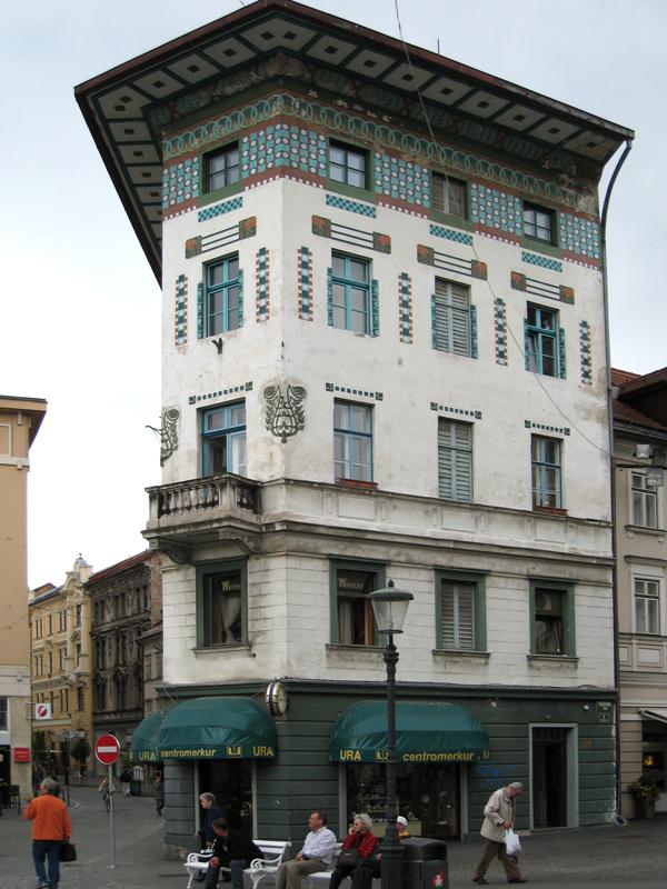 Vienna secession architecture in ljubljana for Architecture vienne